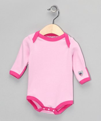 Pink Organic Bodysuit - Infant