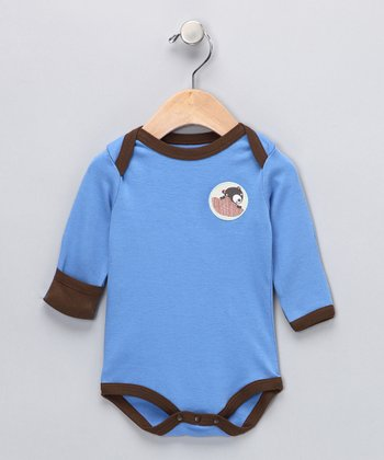 Blue Starry Starry Night Organic Bodysuit - Infant