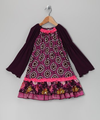 Pink Bohemian Spirit Hannah Dress - Infant, Toddler & Girls