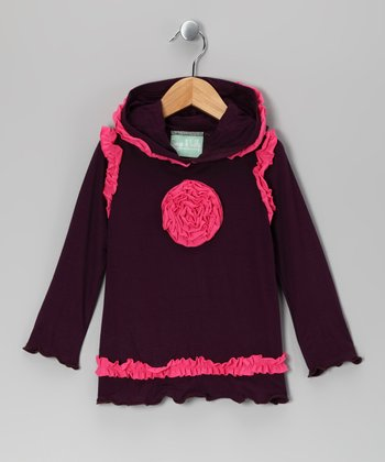 Purple & Pink Bohemian Spirit Hoodie - Infant, Toddler & Girls