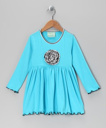 Blue Magic Garden Maggie Dress - Infant, Toddler & Girls
