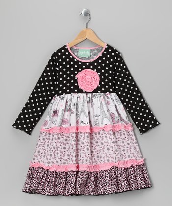 Party in Paris Katie Dress - Infant, Toddler & Girls