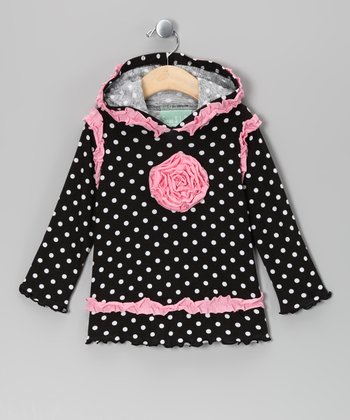 Black & Pink Party in Paris Hoodie - Infant & Toddler