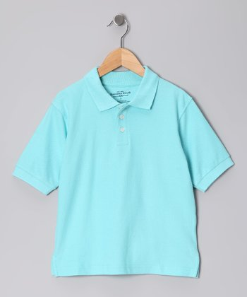 Sahara Club Light Teal Polo - Toddler & Boys