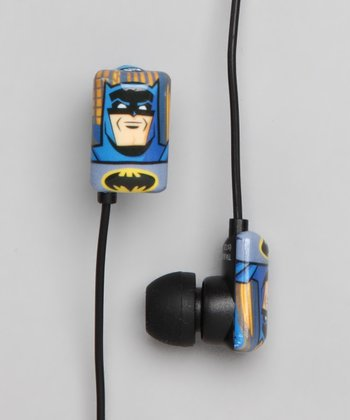 Blue & Gray Batman Earbuds