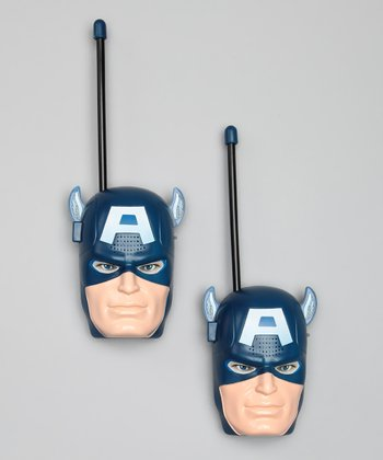 Captain America Walkie-Talkie Set