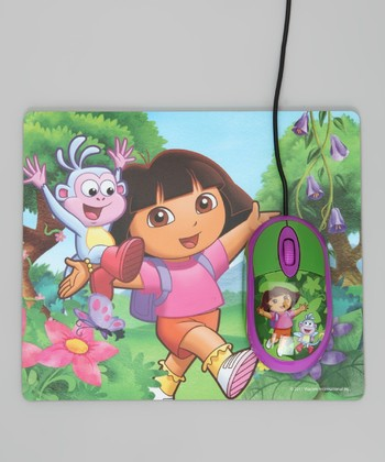 Dora the Explorer Mouse & Mouse Pad