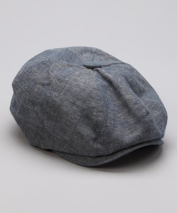Gray Newsboy Cap