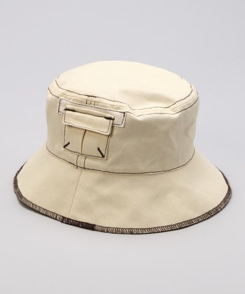 Sand Reversible Bucket Hat