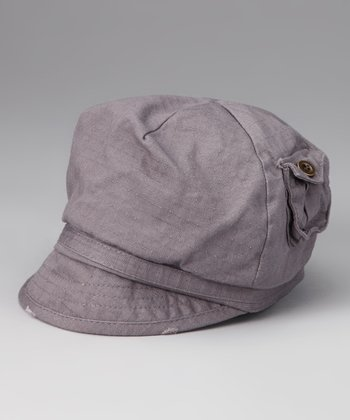 Lavender Newsboy Hat - Toddler