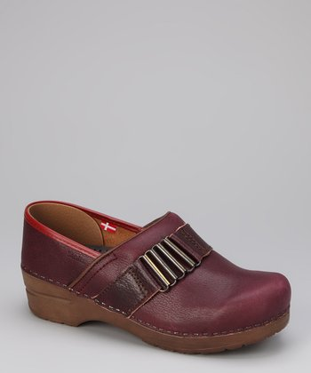 Wine Original Kristine Clog - Women