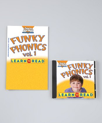 Funky Phonics: Learn to Read Vol. 1 CD & Activity Book