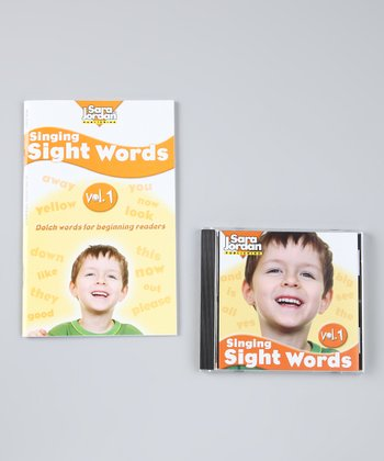 Singing Sight Words Vol. 1 CD & Lyrics Book