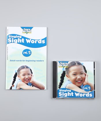 Singing Sight Words Vol. 2 CD & Lyrics Book