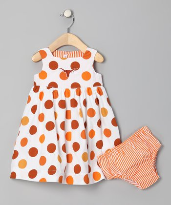 Texas Longhorns Dress & Diaper Cover - Toddler