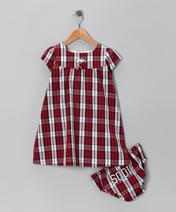 Arkansas Razorbacks Dress & Diaper Cover - Toddler