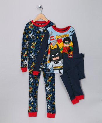 Navy LEGO Batman Pajama Set - Boys