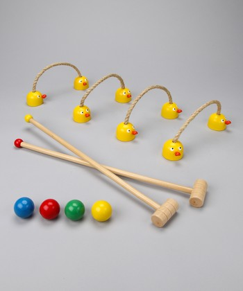 Duck Croquet Game Set