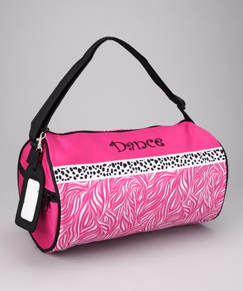 Hot Pink 'Dance' Duffel Bag