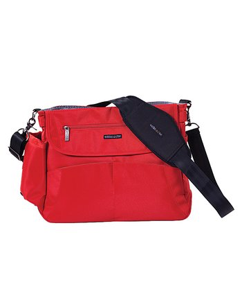 Scandinavian Red Oslo Diaper Bag