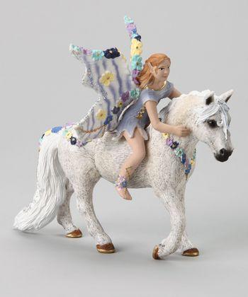 Oleana & Horse Figurine Set