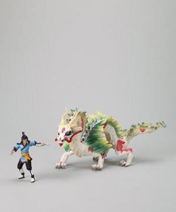 Auruun & Dragon Figurine Set