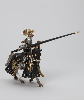 Golden Knight & Horse Set