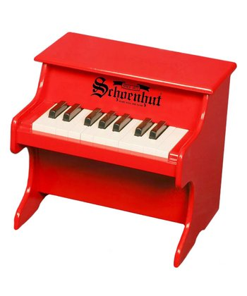 Red 18-Key My First Piano