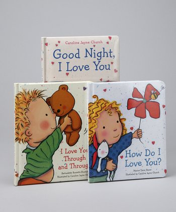 I Love You Padded Board Book Set