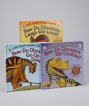 How Do Dinosaurs Hardcover Set
