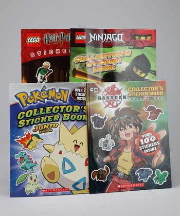 Popular Sticker Book Set