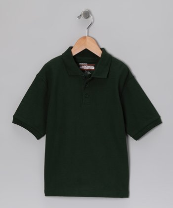 Hunter Piqué Short-Sleeve Polo - Boys