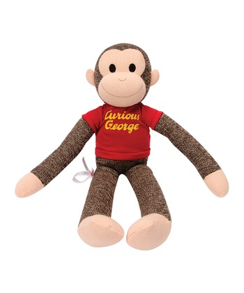 Curious George Sock Monkey Plush Toy