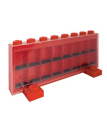 Red LEGO Large Minifigure Storage Case