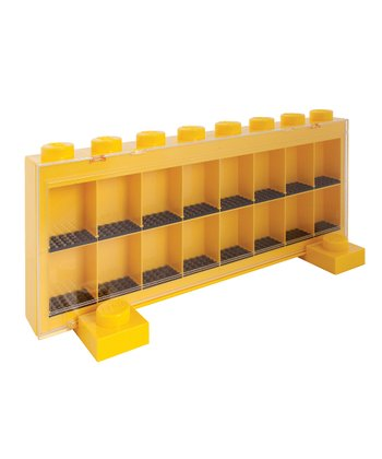 Yellow LEGO Large Minifigure Storage Case
