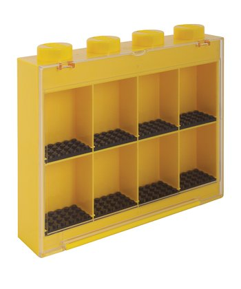 Yellow LEGO Small Minifigure Case