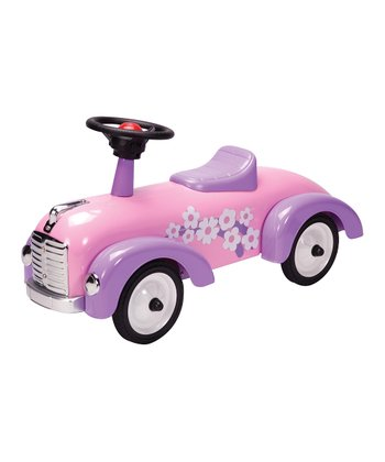 Pink Car Speedster Ride-On