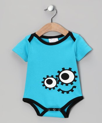 Blue DeDe Organic Bodysuit - Infant