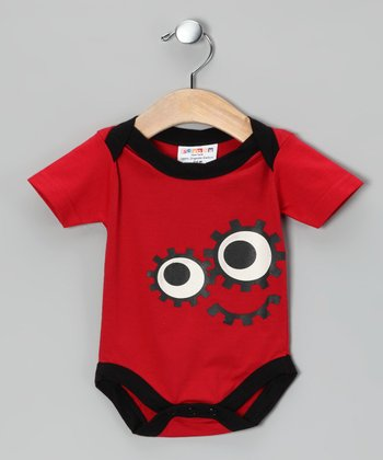 Red DeDe Organic Bodysuit - Infant