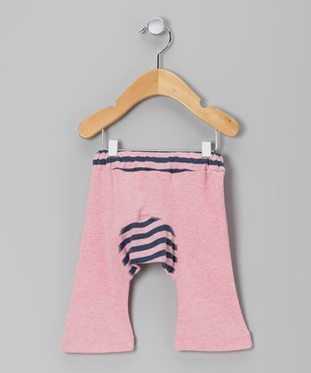 Pink Organic Monkey Pants - Infant