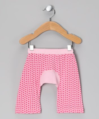 Pink Star Organic Rugby Pants - Infant