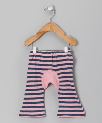 Pink Stripe Organic Pants - Infant & Toddler
