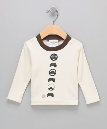 Natural Six Kamon Organic Tee - Infant & Toddler