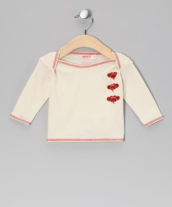 Red Organic Plum Tee - Infant & Toddler