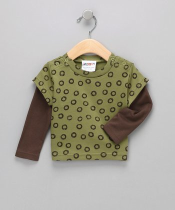 Green Tea Organic Layered Tee - Infant & Toddler
