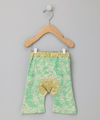 Green Organic Capri Pants - Infant & Toddler
