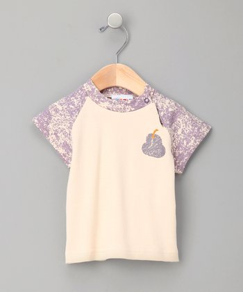 Blue Pear Organic Raglan Tee - Infant & Toddler