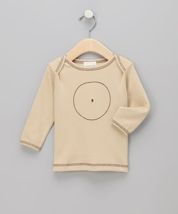 Beige Circle Organic Tee - Infant & Toddler