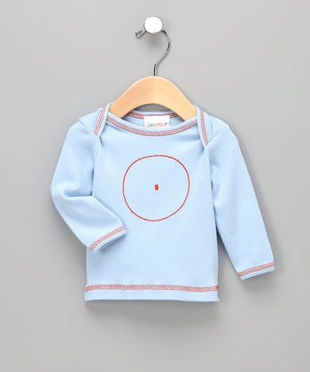 Light Blue Circle Organic Tee - Infant
