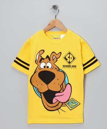 Yellow 'Scooby-Doo' Tee - Kids